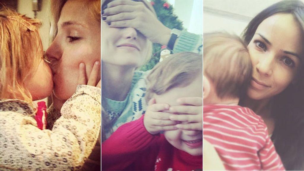 Mamitis en la red: momentos enternecedores con sus hijos