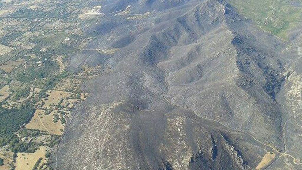 Incendio en Mallorca