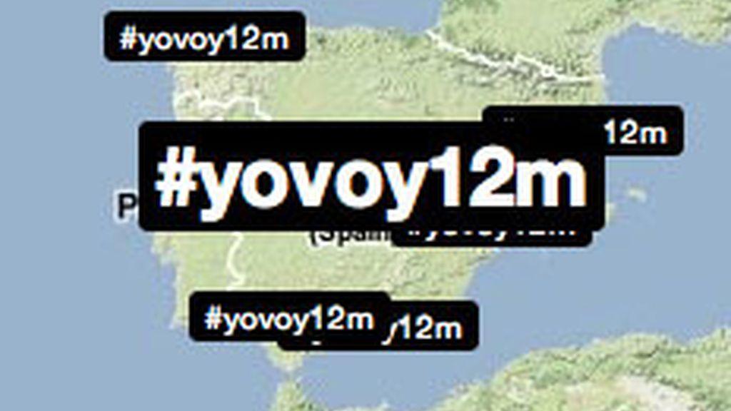 El hashtag#YoVoy12M enciende la Red