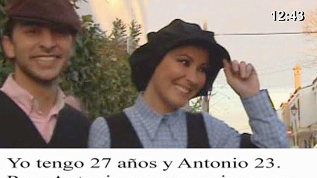 Rosario Mohedano, embarazada