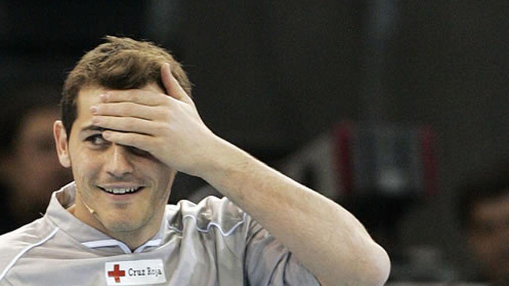 Los sudores de Iker Casillas