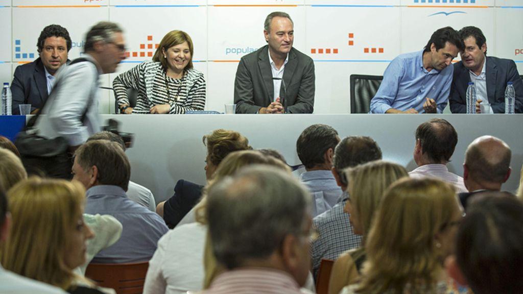 Fabra preside la reunión del comité ejecutivo regional del PP