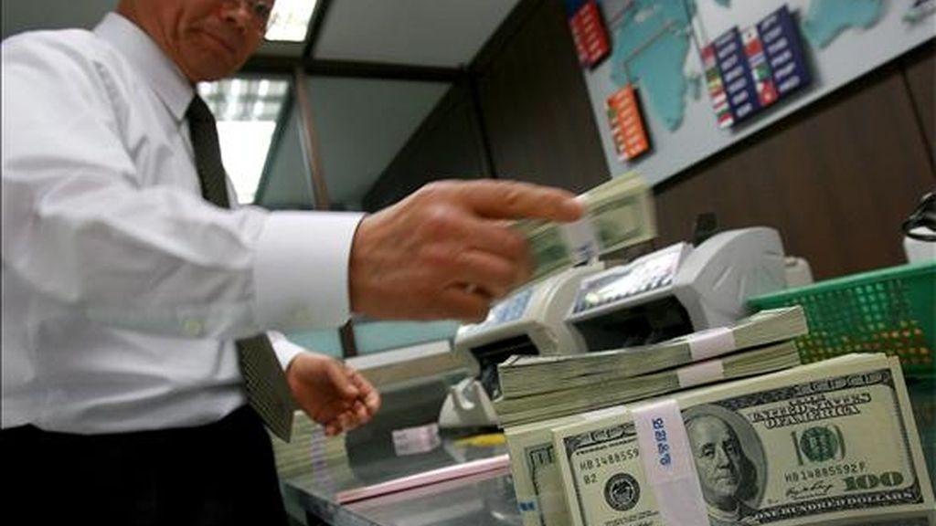 El banco prevé que esas ganancias representen un incremento del valor de sus acciones de 55 centavos. EFE/Archivo