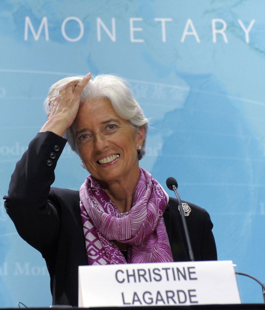 Christine Lagarde pide a la eurozona una solución urgente FOTO: GTRES