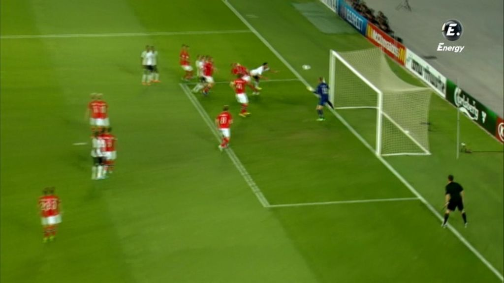 El árbitro anuló un gol a Inglaterra por fuera de juego