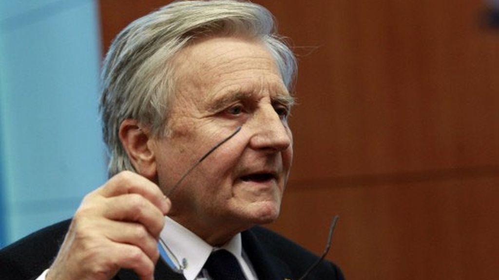 Imagen de archivo del presidente del Banco Central Europeo (BCE), Jean-Claude Trichet.