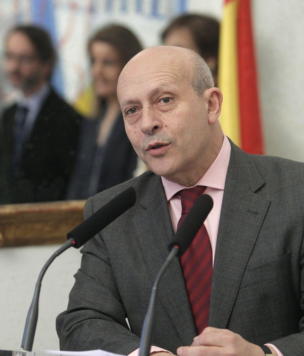 El ministro de Educación, Deporte y Cultura, José Ignacio Wert