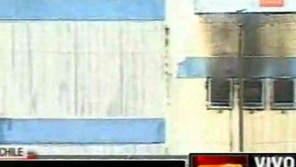 Incendio en una cárcel de Chile