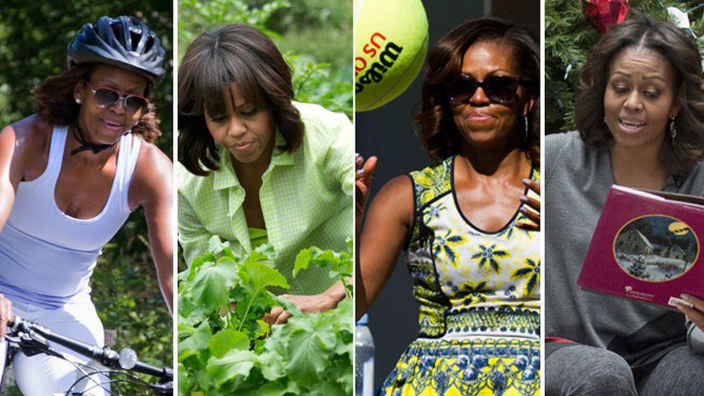 Espontaneidad, cercanía, vida sana... así es la política de Michelle