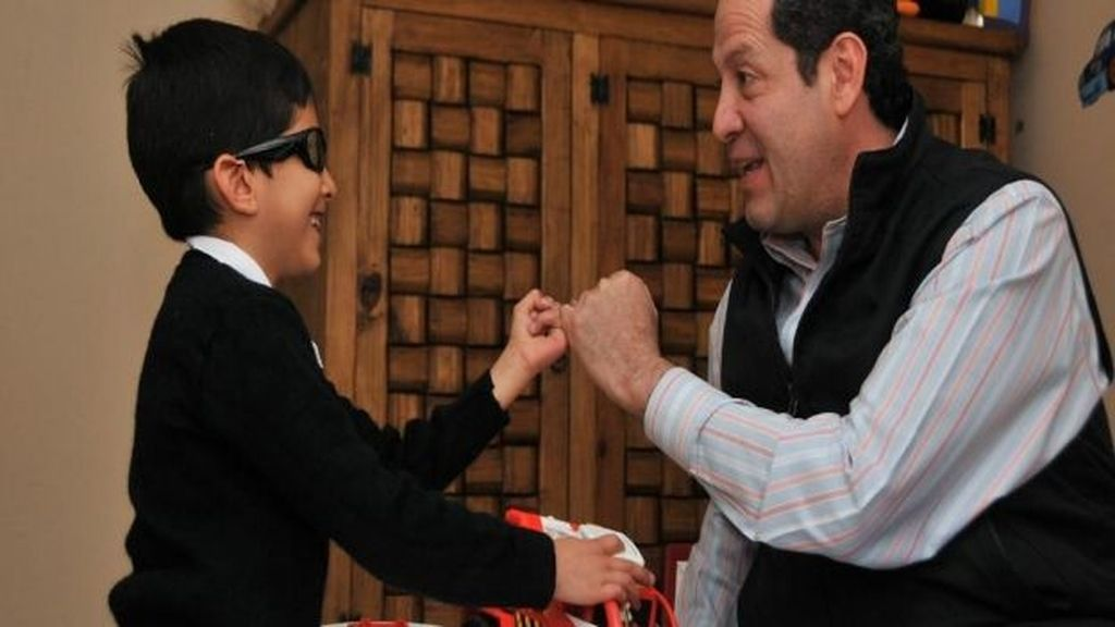 Fernando, el niño de 5 años al que su familia dejó ciego durante un ritual satánico