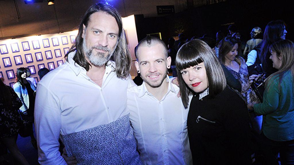 Sergio Mitjans, David Muñoz y Laura Caballero