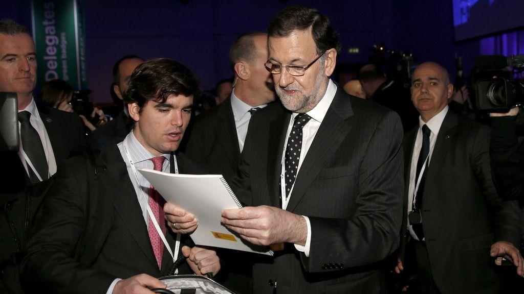 Mariano Rajoy en el Congreso del PPE