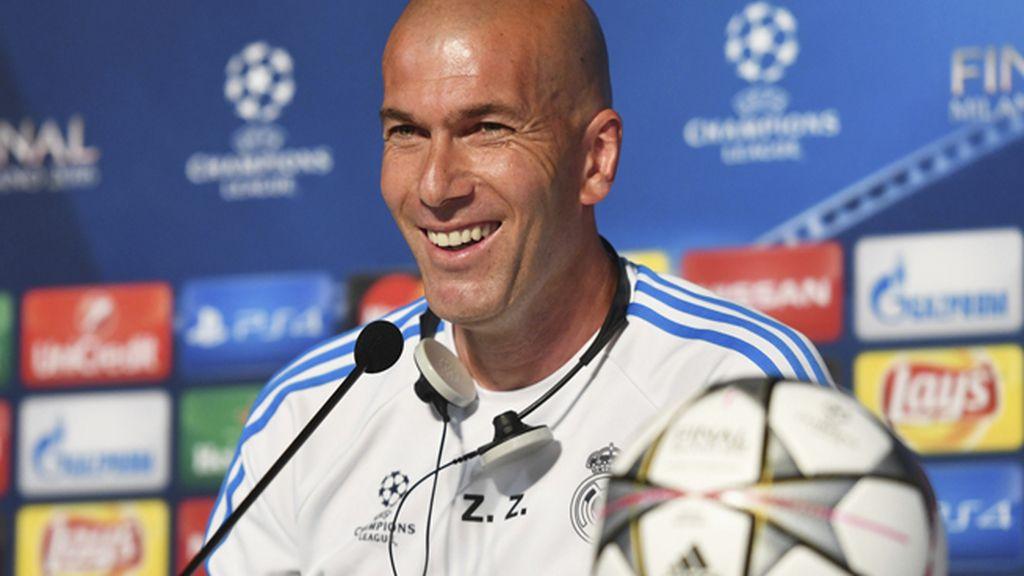"""Zidane: """"Lo que tenemos que hacer es correr, correr y correr"""""""