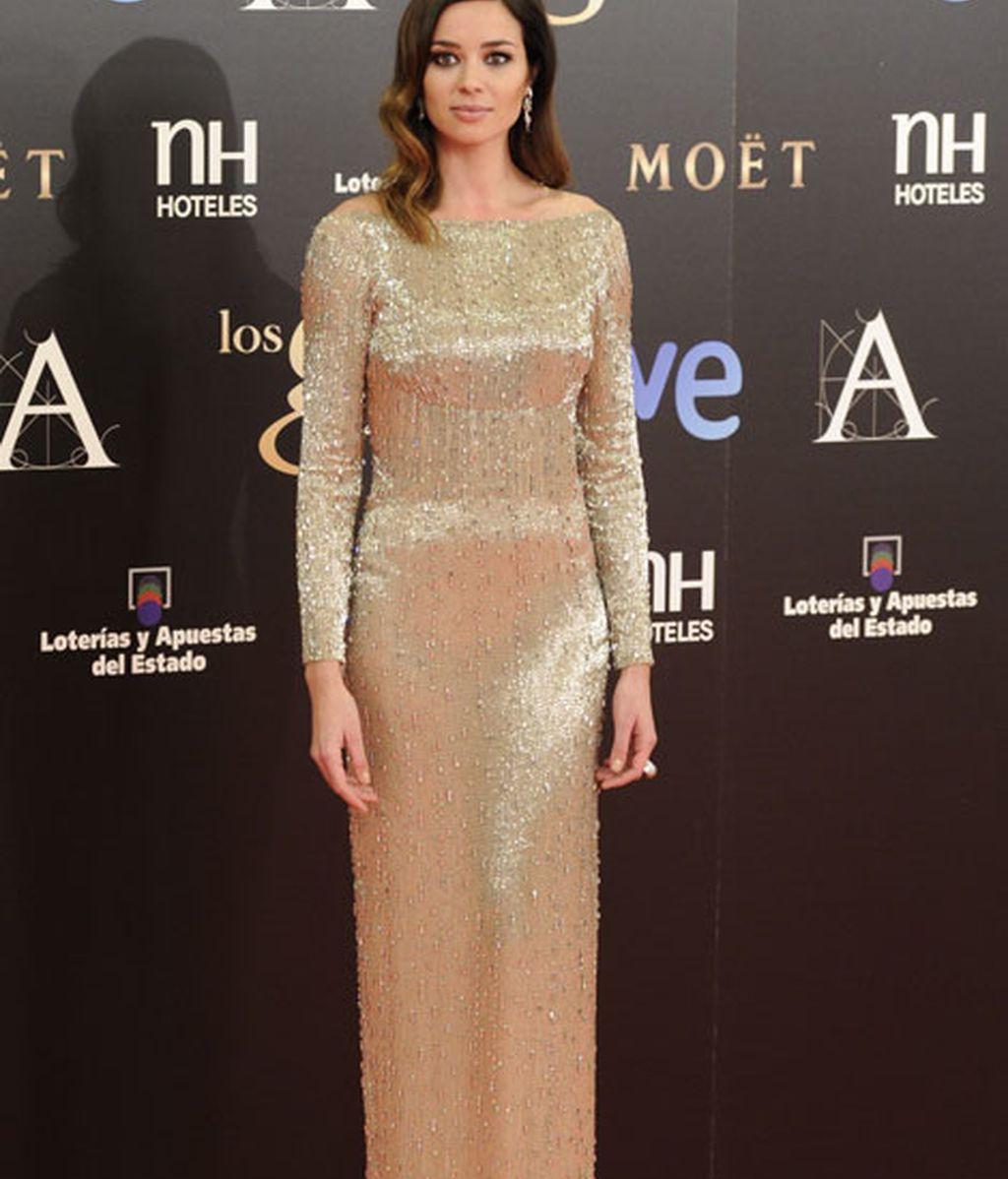 Vestido largo de gala de Dafne Fernández