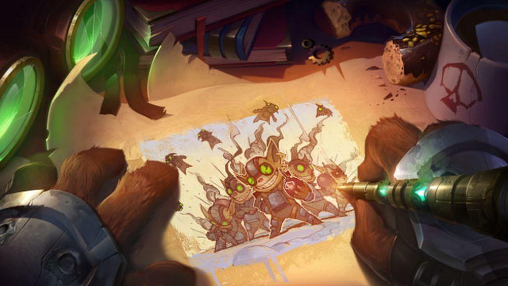 Ziggs, League of Legends, Uno para Todos Modo Espejo