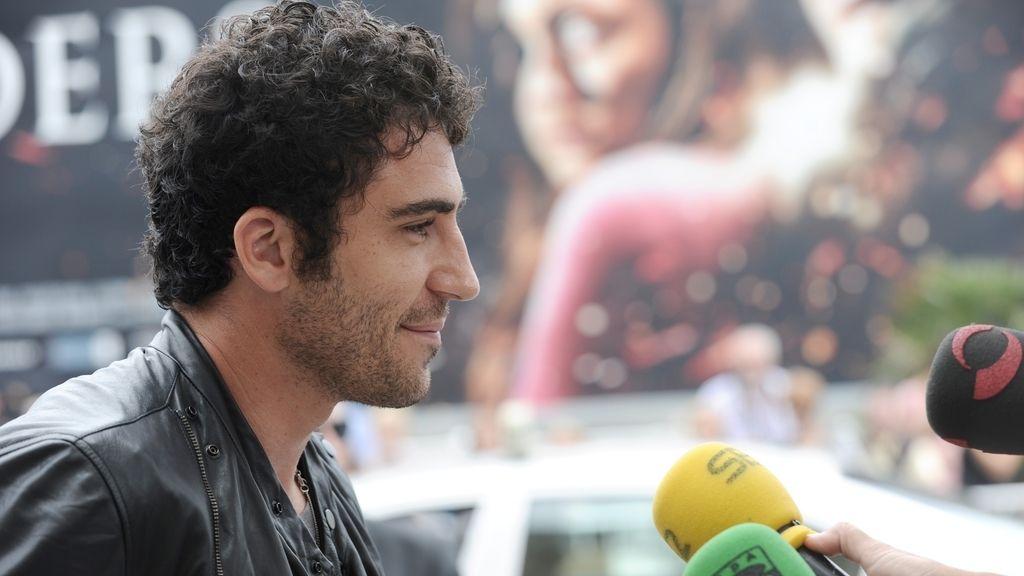 Miguel Angel Silvestre presenta 'Verbo' en San Sebastián