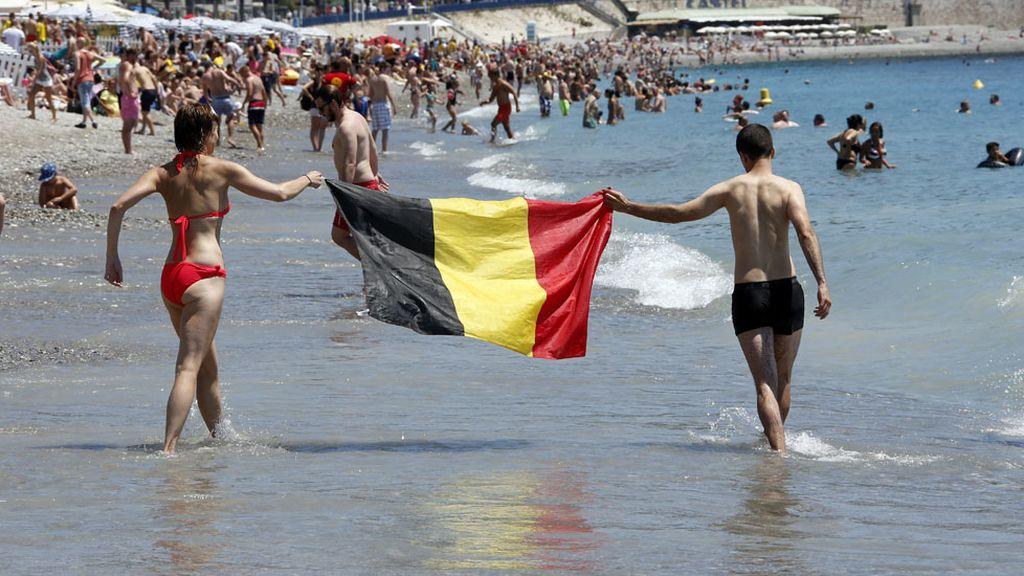 La Eurocopa llega a la playas de Francia (22/06/2016)