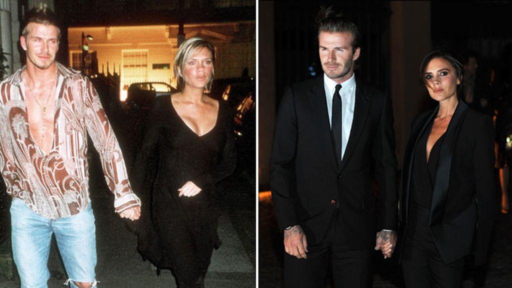 Pelo, estilo, figura: los cambios de 'look' han sido una constante para Victoria...