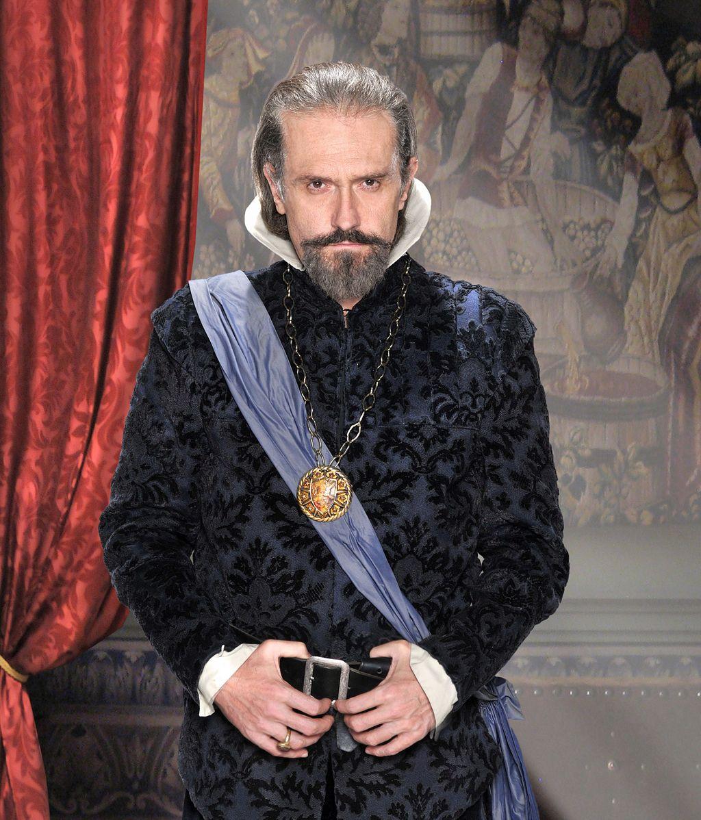 Gary Piquer es el Conde-duque de Olivares