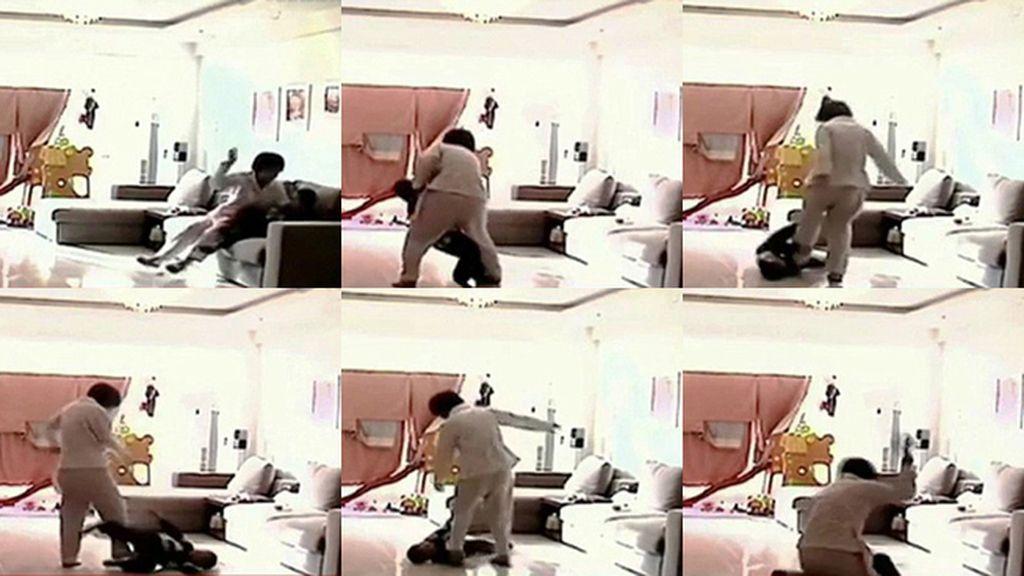 Una niñera es grabada mientras golpea a un niño de cinco años en China