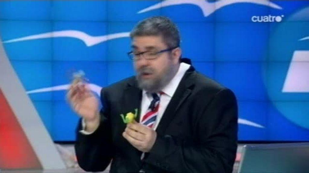Rajoy en acción