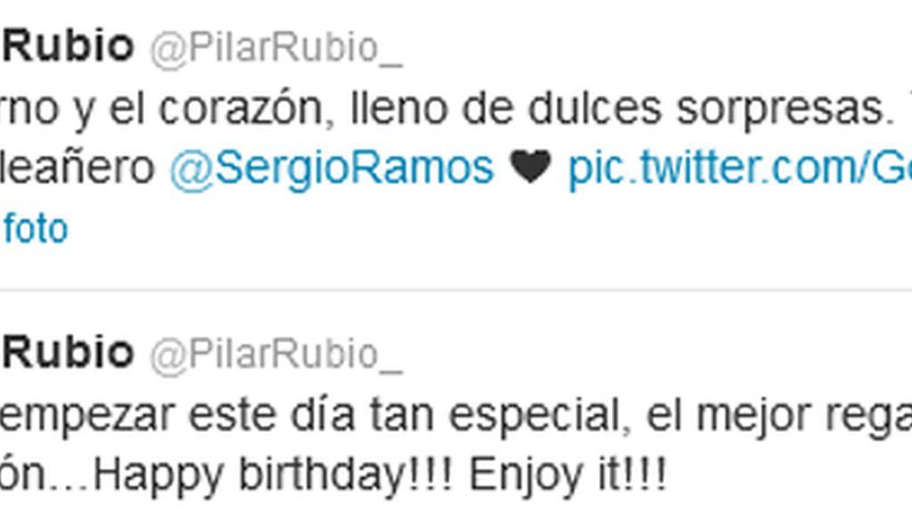 Twitter de Pilar Rubio
