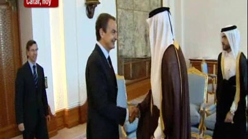 Zapatero se trae de Qatar importantes inversiones