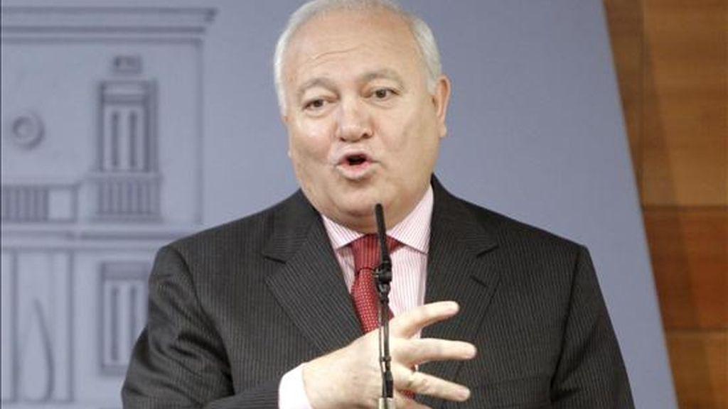 El ministro de Asuntos Exteriores, Miguel Angel Moratinos. EFE/Archivo