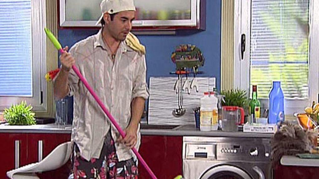 Limpiando mi casita