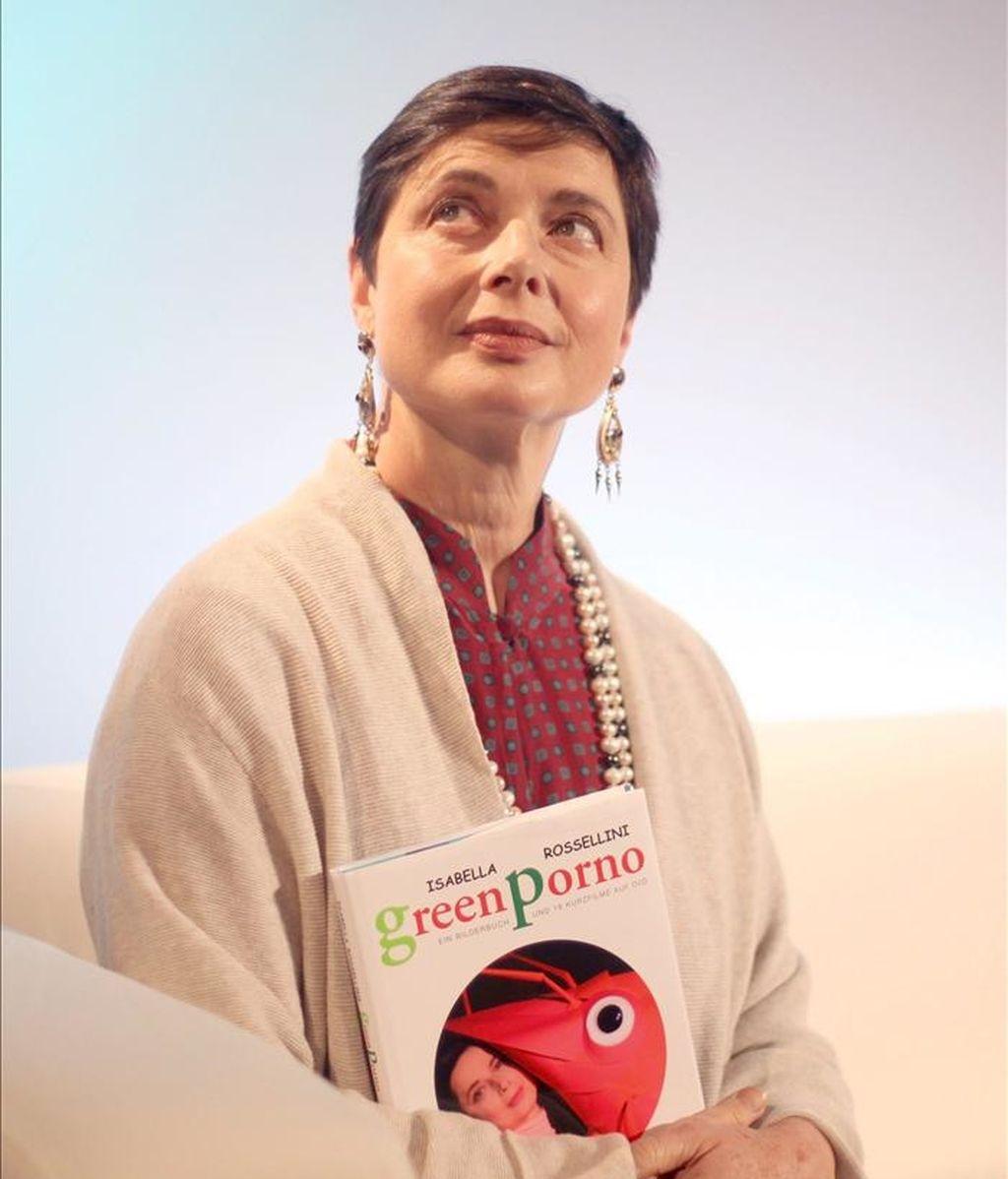 La actriz italiana Isabella Rossellini. EFE/Archivo