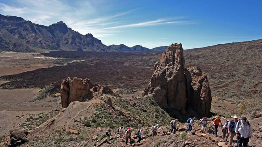 Rafa Méndez revive su infancia en El Teide