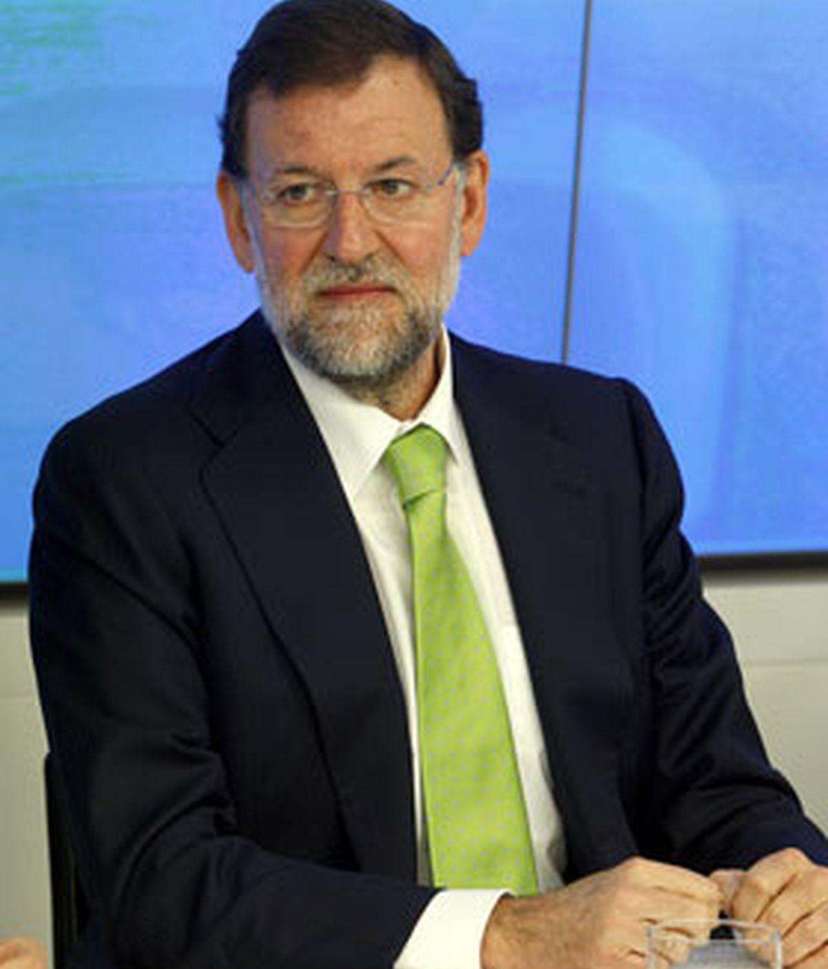 Rajoy ha pronunciado estas palabras ante un Comité Ejecutivo que ha contado con la ausencia de numerosos presidentes autonómicos. FOTO: EFE