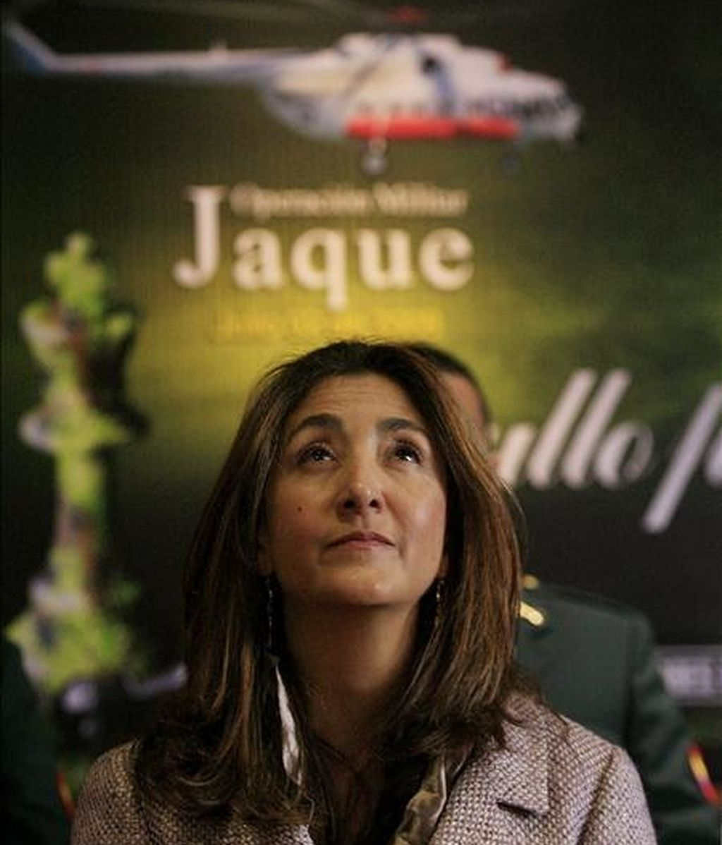 La ex rehén de la guerrilla de las FARC Ingrid Betancourt. EFE/Archivo