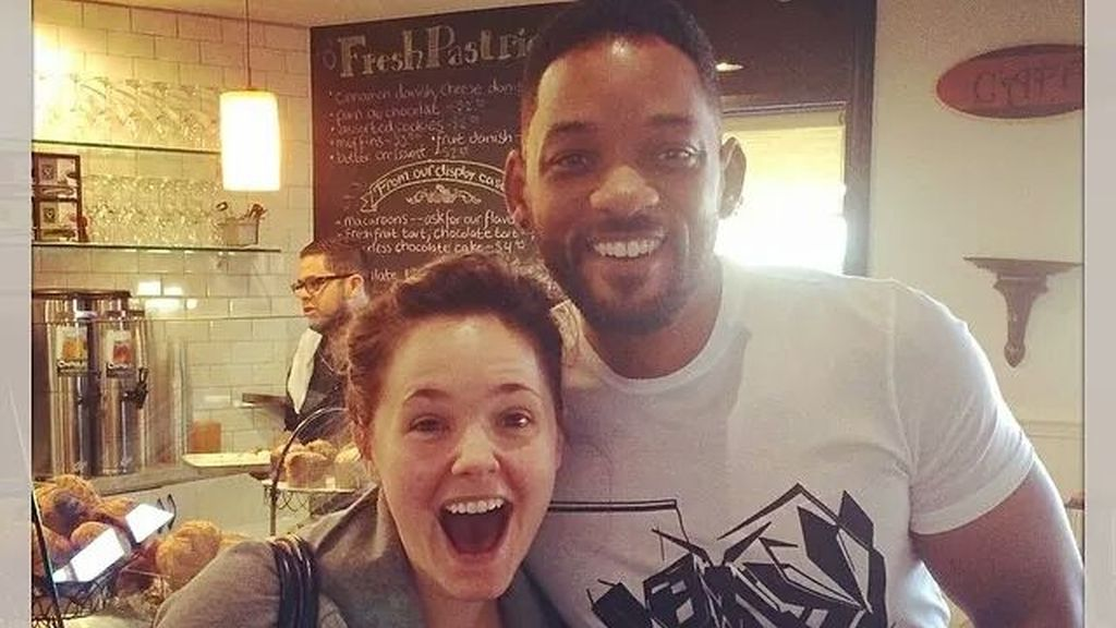 Will Smith ayuda a una fan a anunciar su embarazo