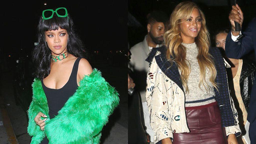 Rihanna y Beyoncé, ¿rivales por un hombre?