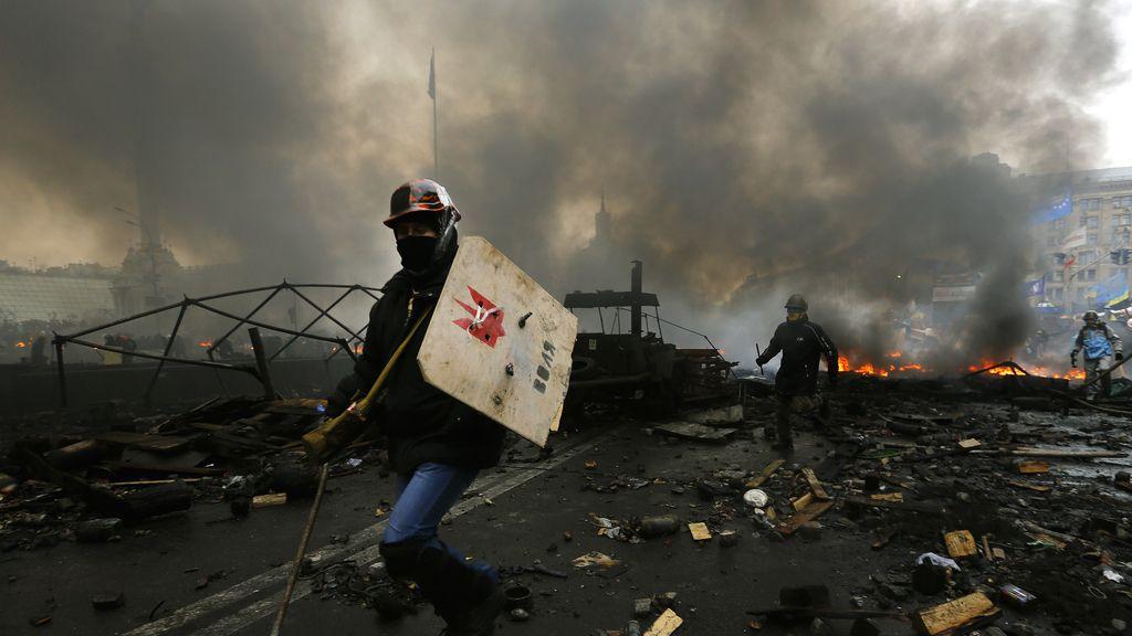 Se recrudecen los enfrentamientos en Kiev