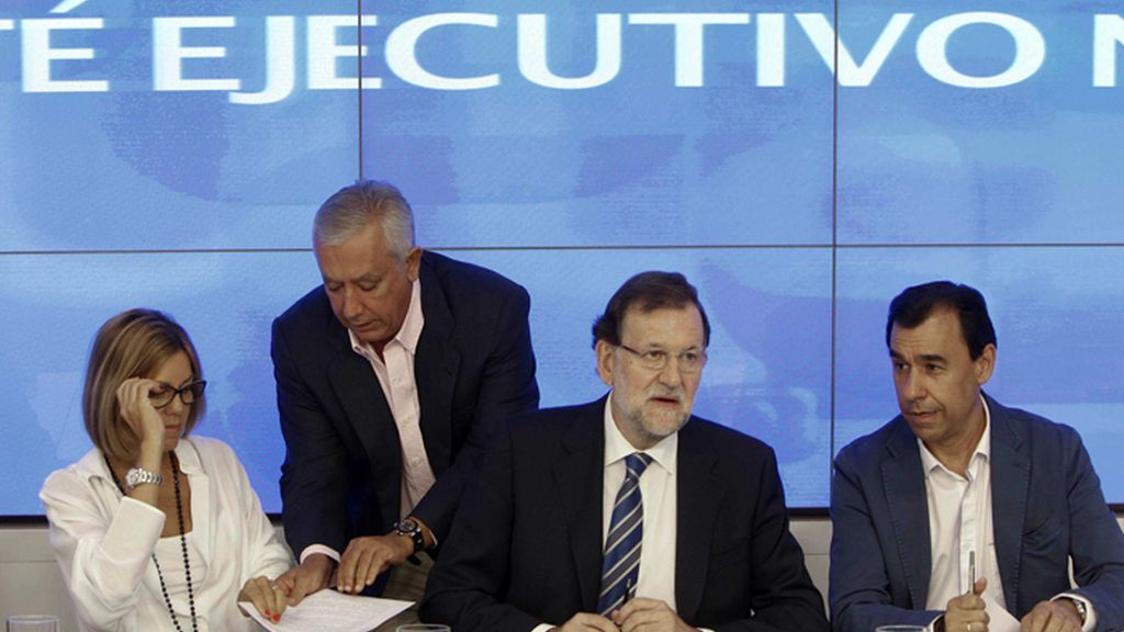 Mariano Rajoy preside el Comité Ejecutivo del PP