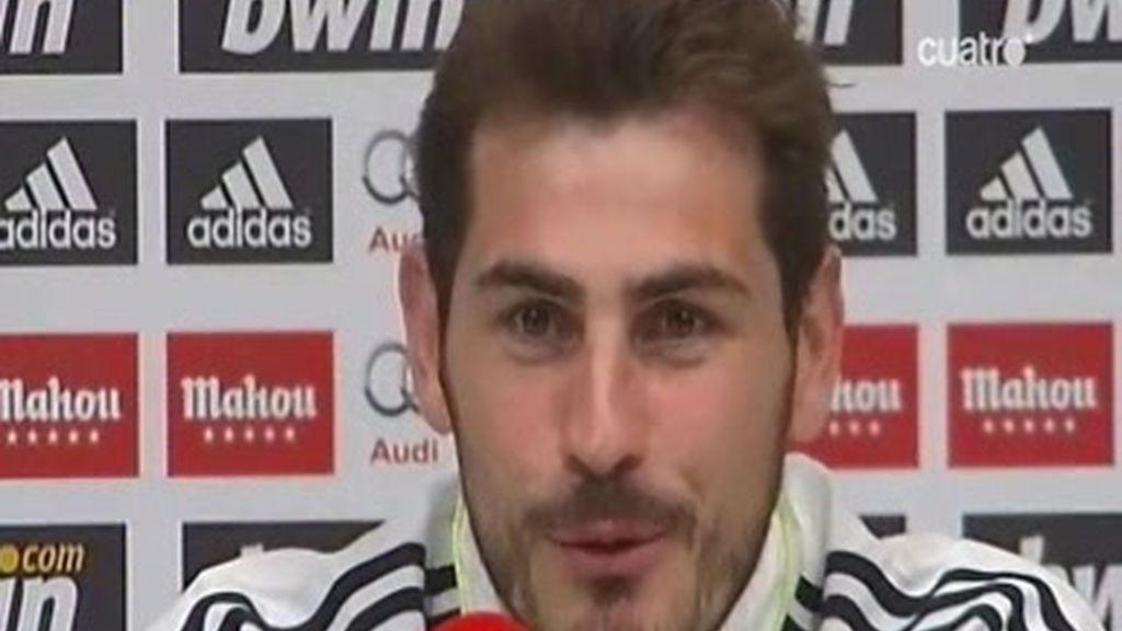 Casillas repasa la actualidad madridista