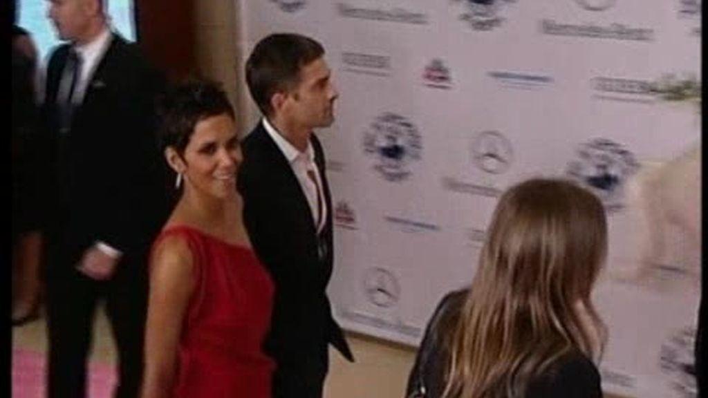 Halle Berry y Olivier Martínez, juntos por primera vez