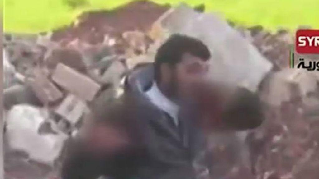 Rebelde sirio come corazón de soldado