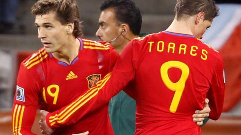 Fernando Torres sigue siendo titular