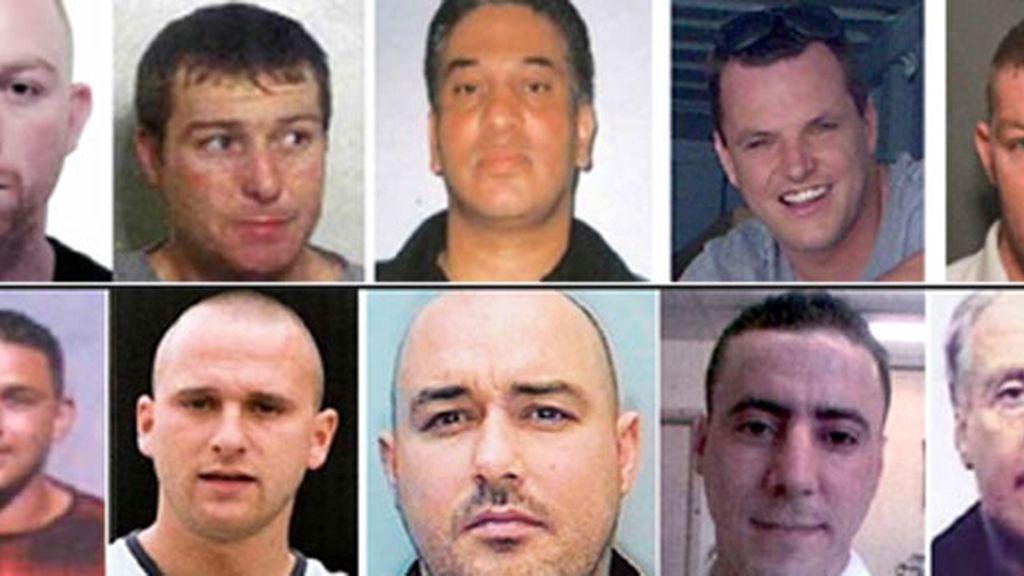 Fugitivos británicos que viven en España