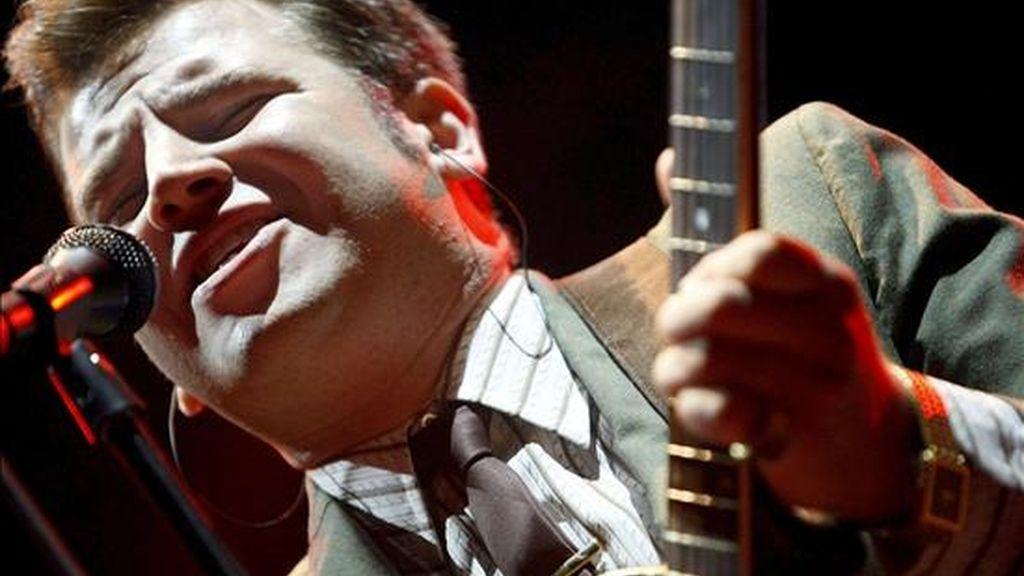 """El cantante de soul americano, Eli """"Paperboy"""" Reed. EFE/Archivo"""