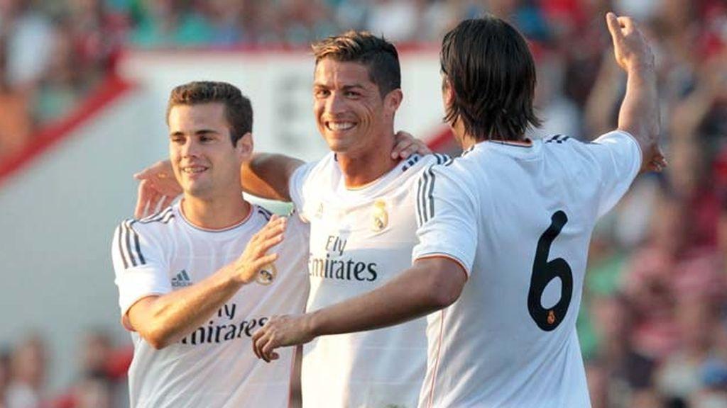 Partido amistoso entre el Bournemouth y Real Madrid