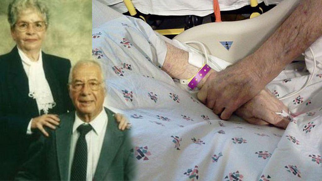 Una pareja, casada durante 65 años, muere con una hora de diferencia