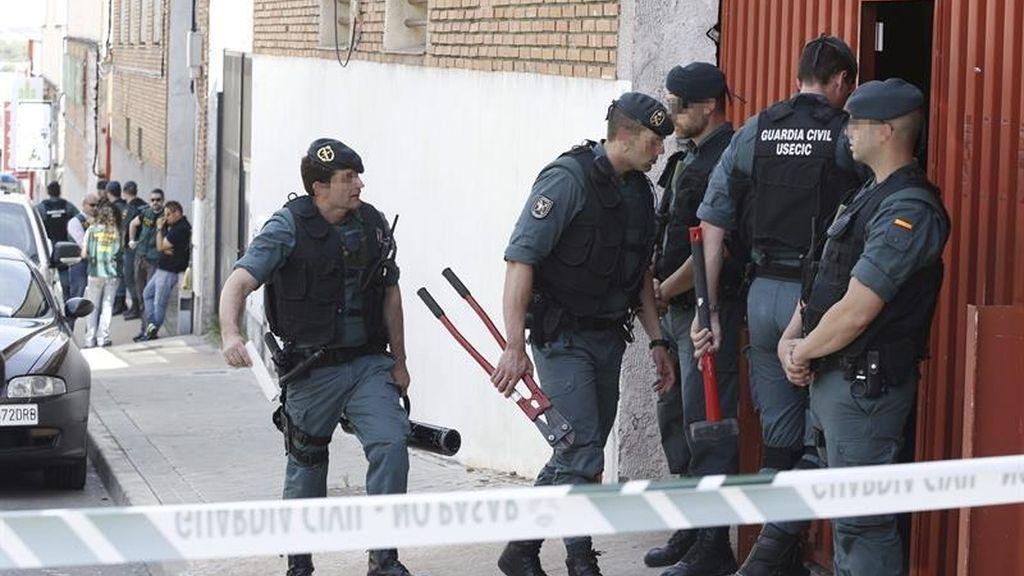 Operativo policial a la mafia china
