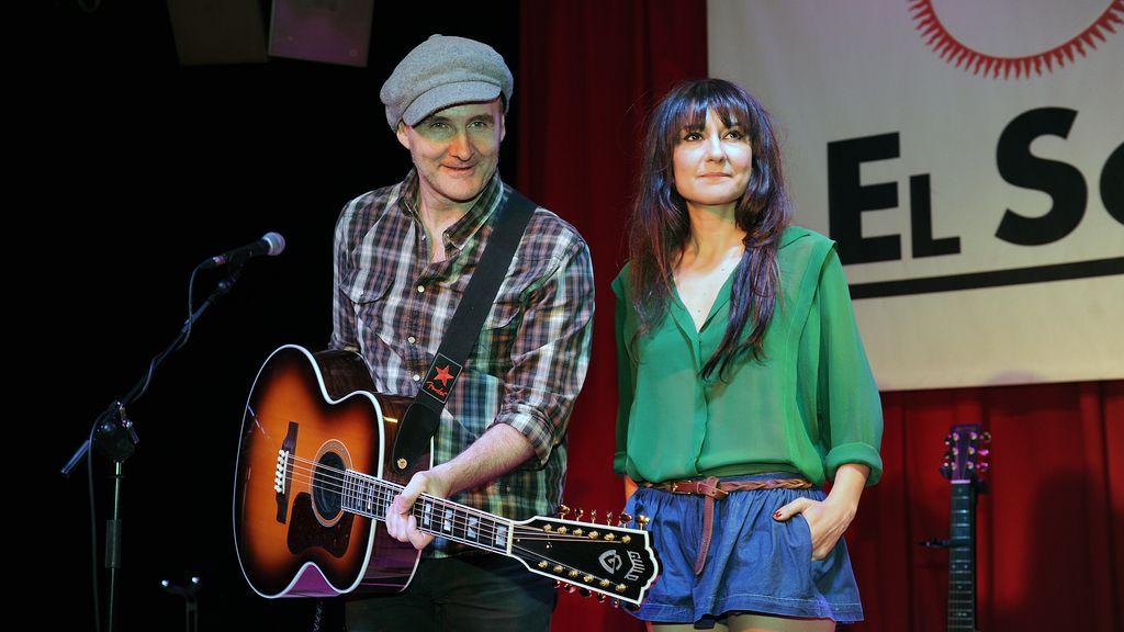 Eva Amaral y Juan Aguirre FOTO: GTRES