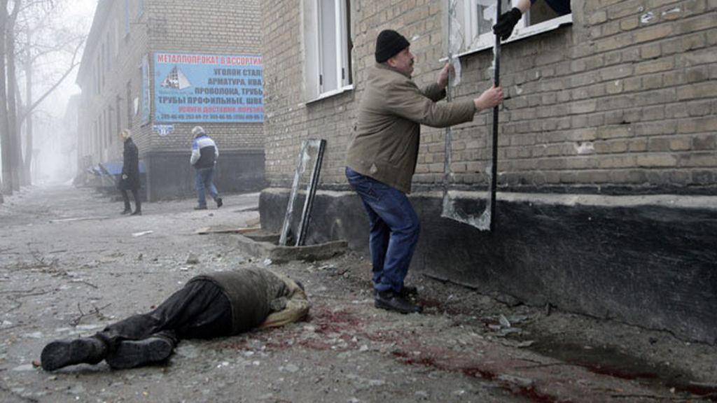 El conflicto en Donestk golpea a la población civil