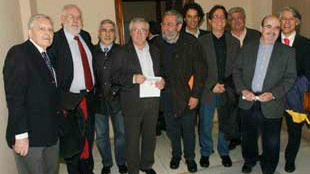 Apoyo multitudinario en la Complutense para apoyar al juez de la Audiencia Nacional. Vídeo: Informativos Telecinco.
