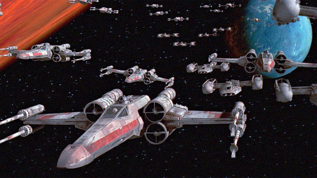 X-Wings, las fuerzas rebeldes